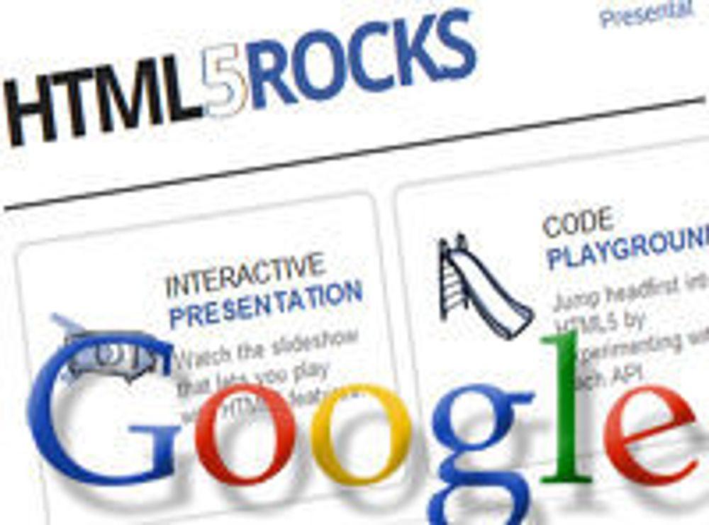 Google: - «HTML5 rocker!»