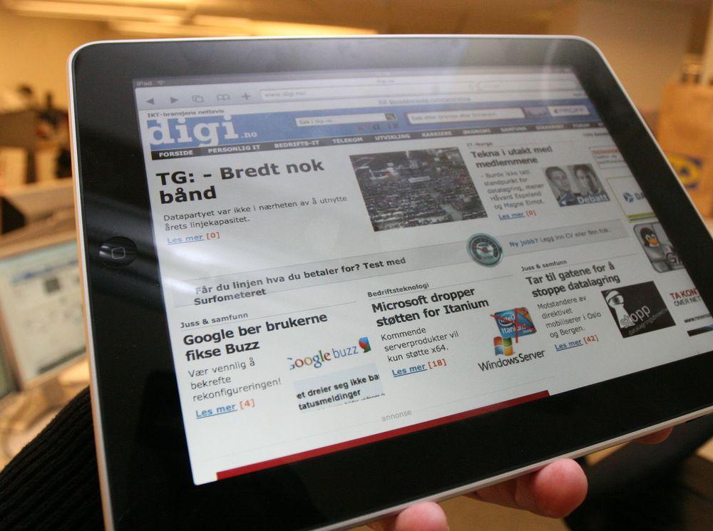 Apple har solgt tre millioner iPad