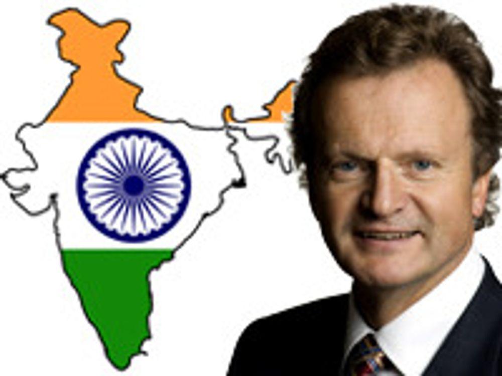 Baksaas håper det ordner seg i India