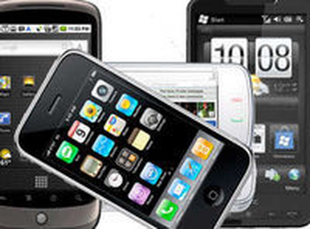 IPhone- og HTC-eierne er mest fornøyd