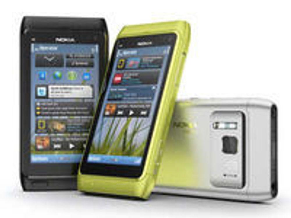 Nokia sliter med marginene