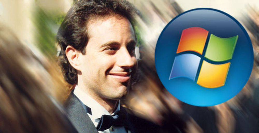 Jerry Seinfeld skal markedsføre Windows Vista. FOTO: Alan Light, Creative Commons 2.0