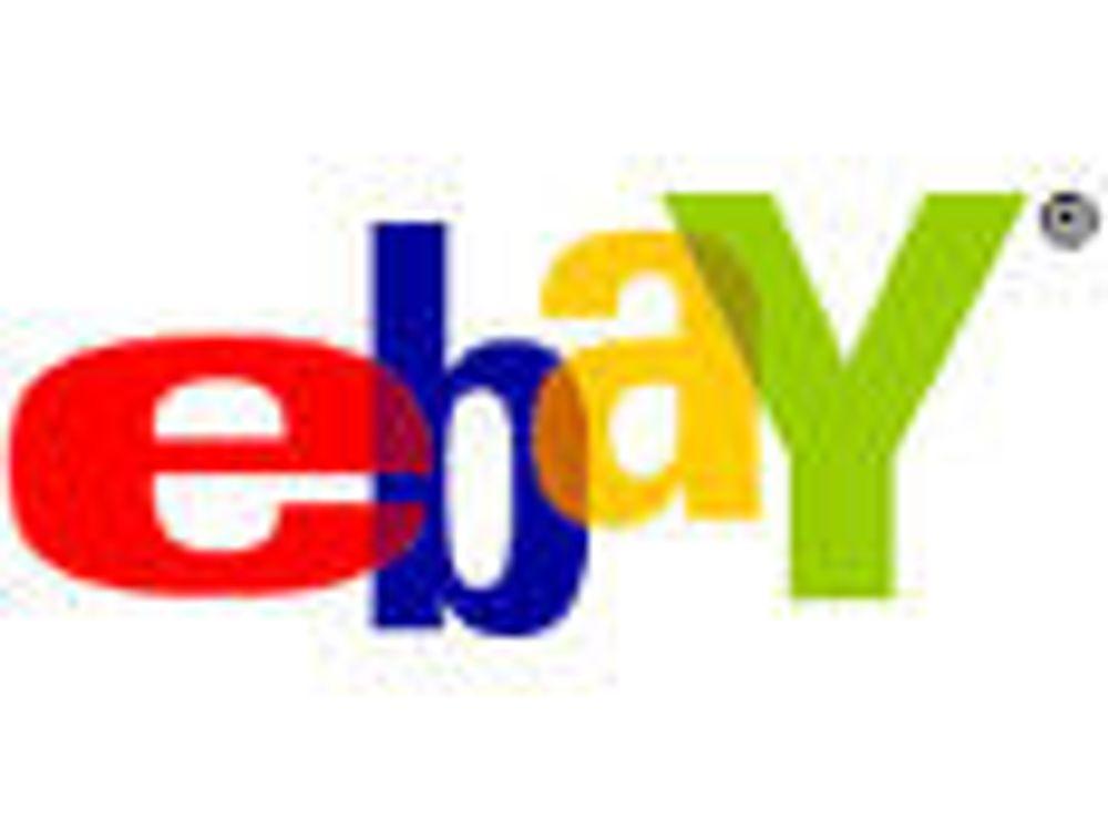 eBay går bort fra nettauksjoner