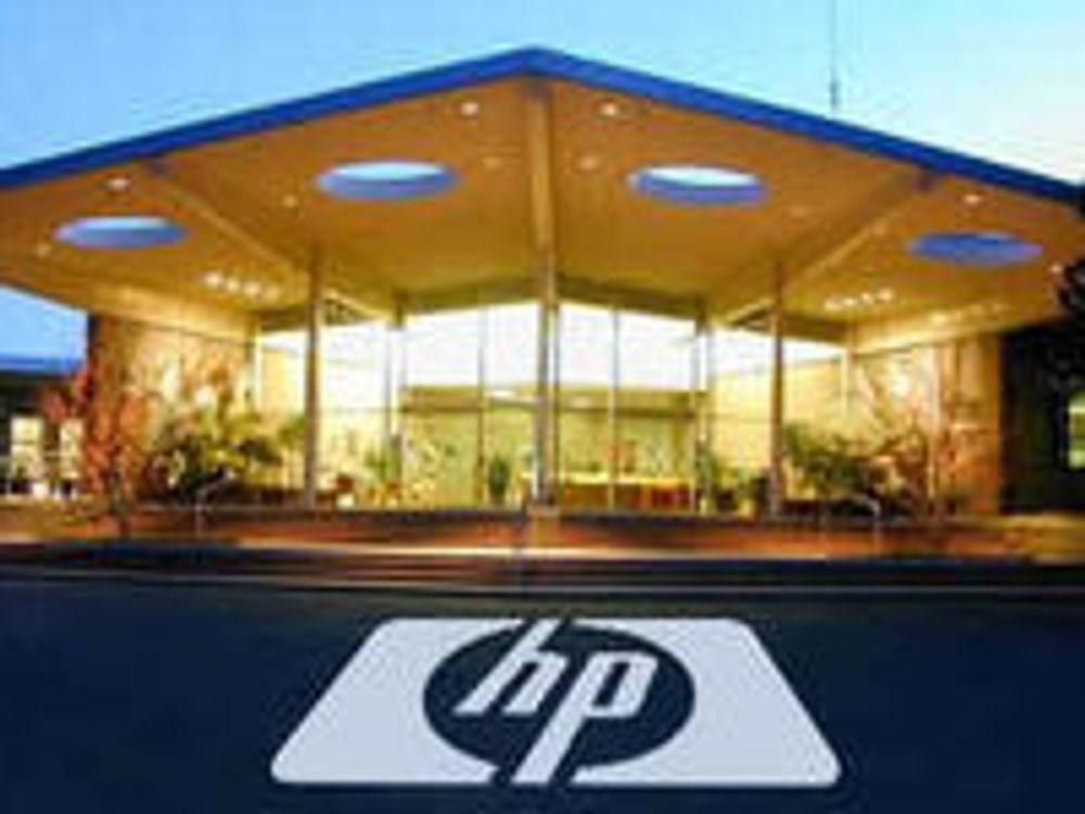 HP fosser fram innen bærbare og bladservere