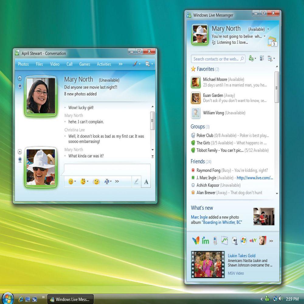 Microsoft lanserte ny Messenger