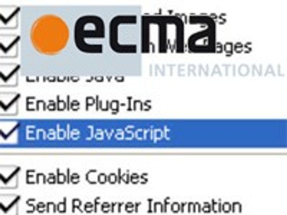 Vedtok ny standard for JavaScript