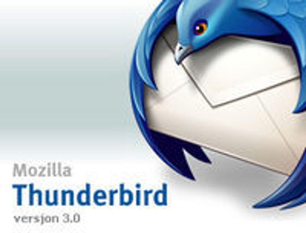 Mozilla med helt ny Thunderbird