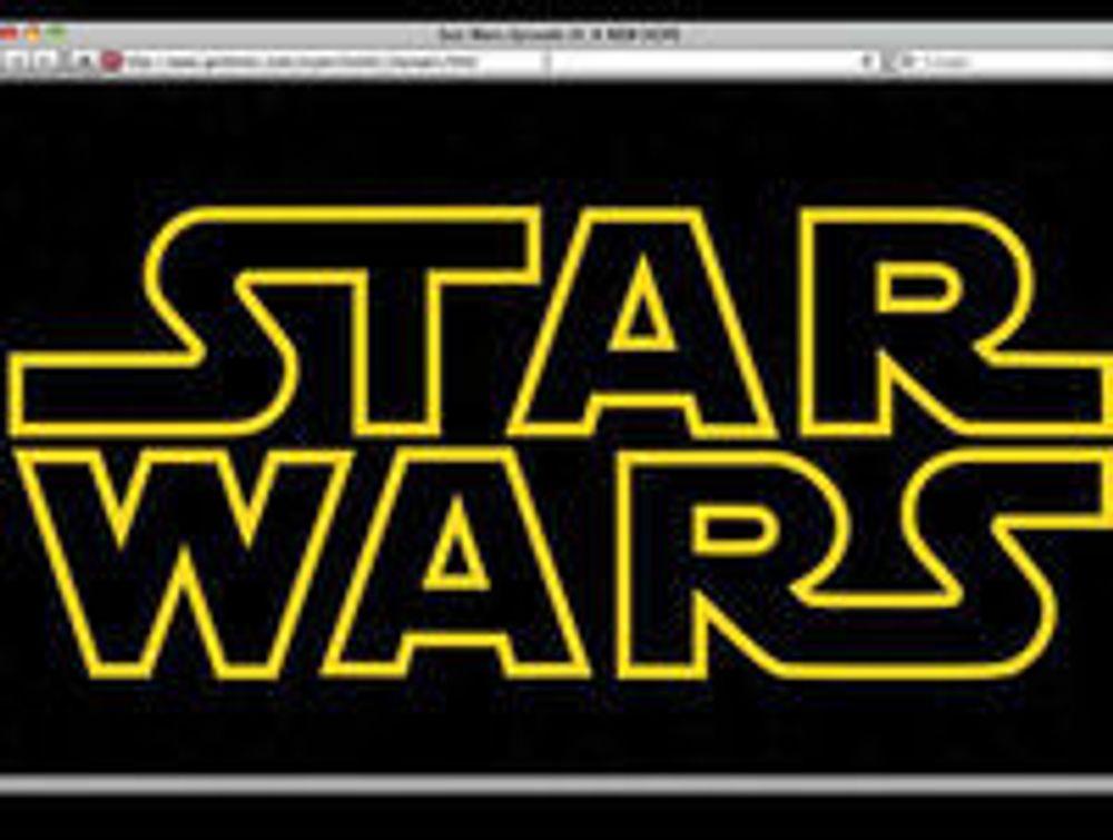 Se Star Wars-intro med bare HTML og CSS