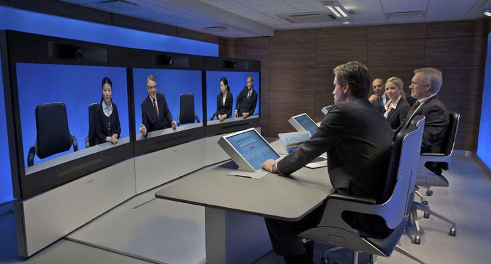 Tandberg-utstyr spilte en nøkkelrolle i verdens hittil største videokonferanse.