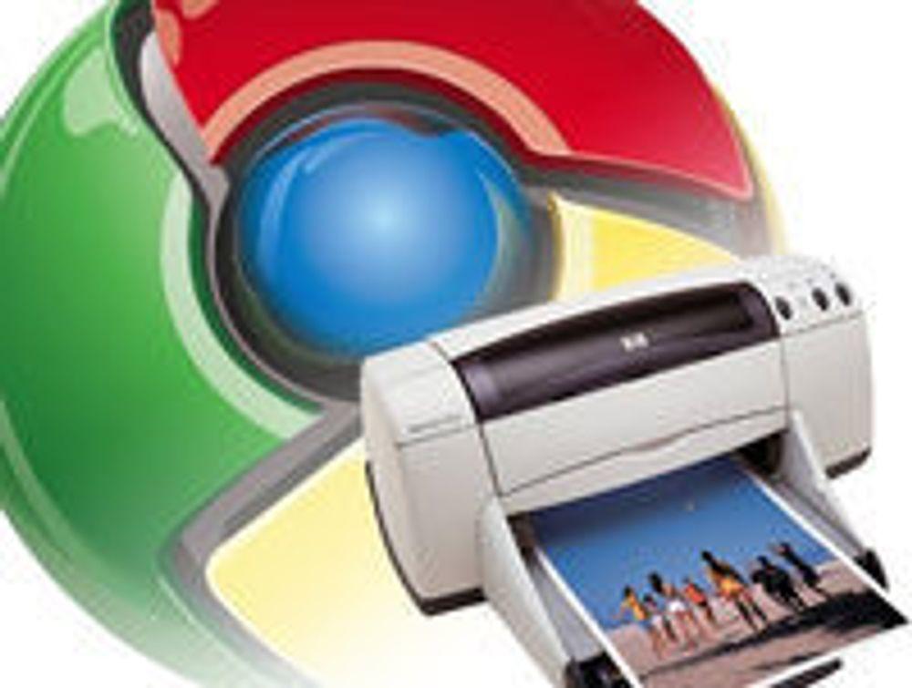 Utskrift en vrien utfordring for Chrome OS
