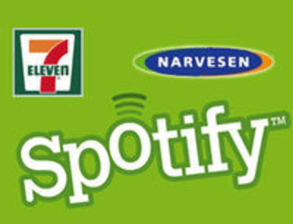 Spotify rykker inn i norske kiosker