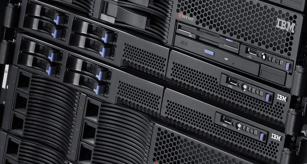 Det er særlig i det øvre prissegment at IBMs x86-servere har slått godt an i Norge. Her en System x 336.
