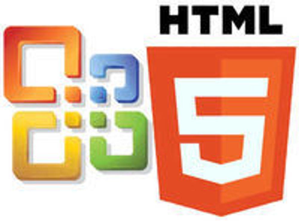HTML5 og JavaScript blir viktige i Office
