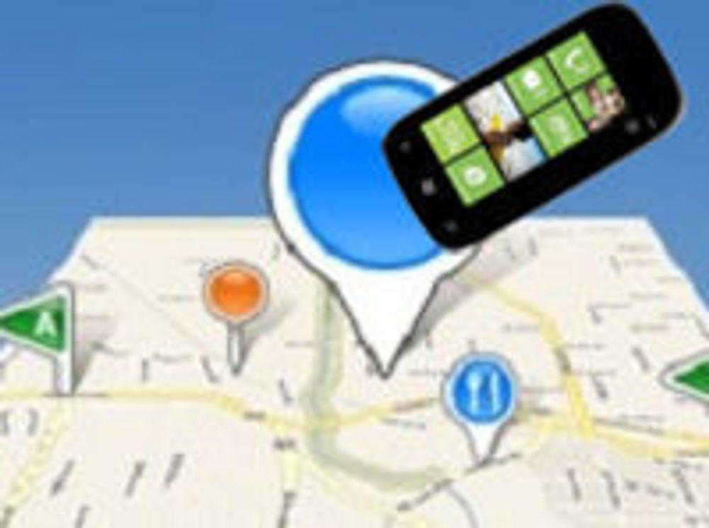 Mobiler også i Microsofts posisjonsdatabase
