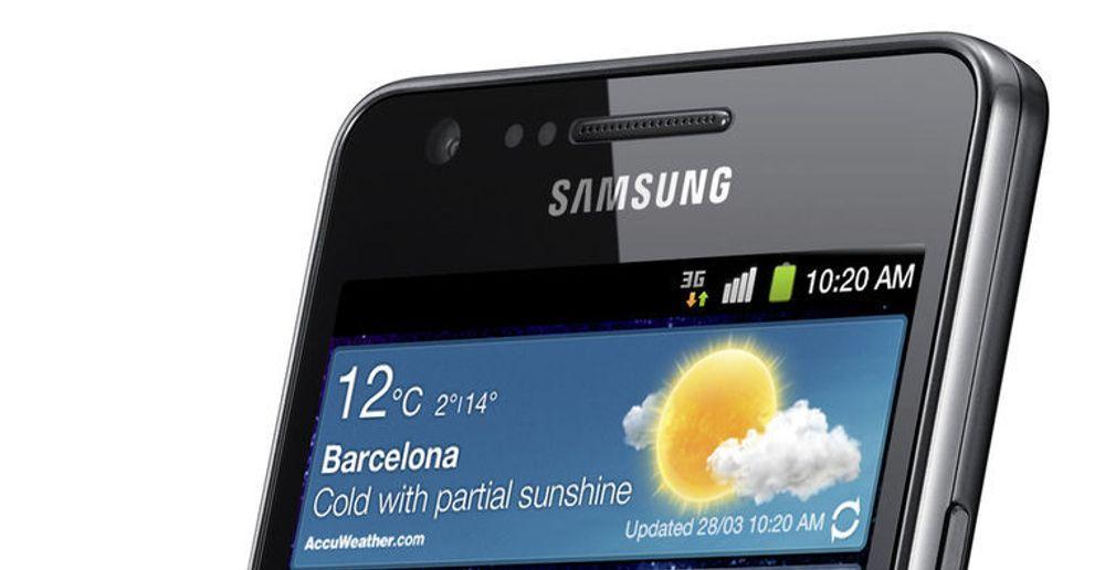 Samsung og de andre produsentene av smarttelefoner vil selge 1 milliarder enheter i 2016 alene.Det forventer IMS Research.