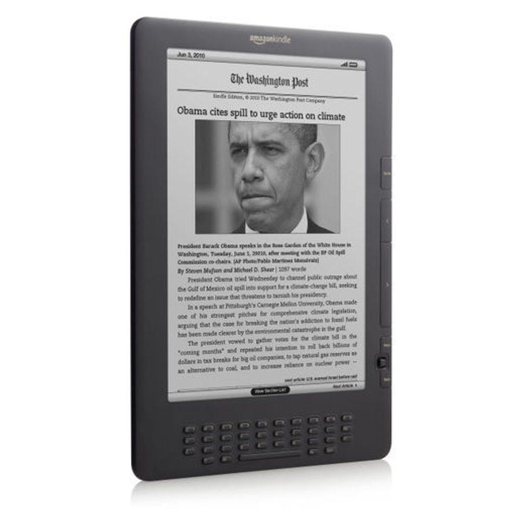 Kindle med gratis nett løfter Amazon