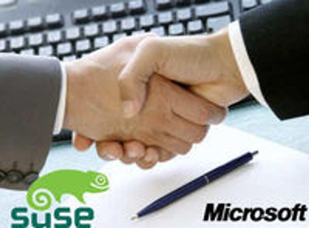Microsoft forlenger millionavtale med SUSE
