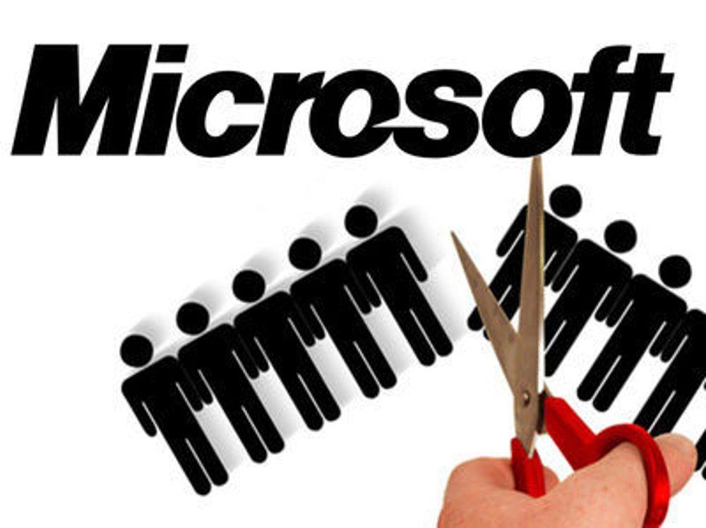 Nedbemanning i Microsoft