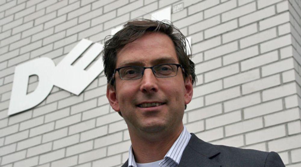 Michael Jacobs i Dell Norge skal levere lagringsløsninger til Telecomputing.