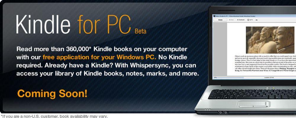 Kindle blir gratisprogram