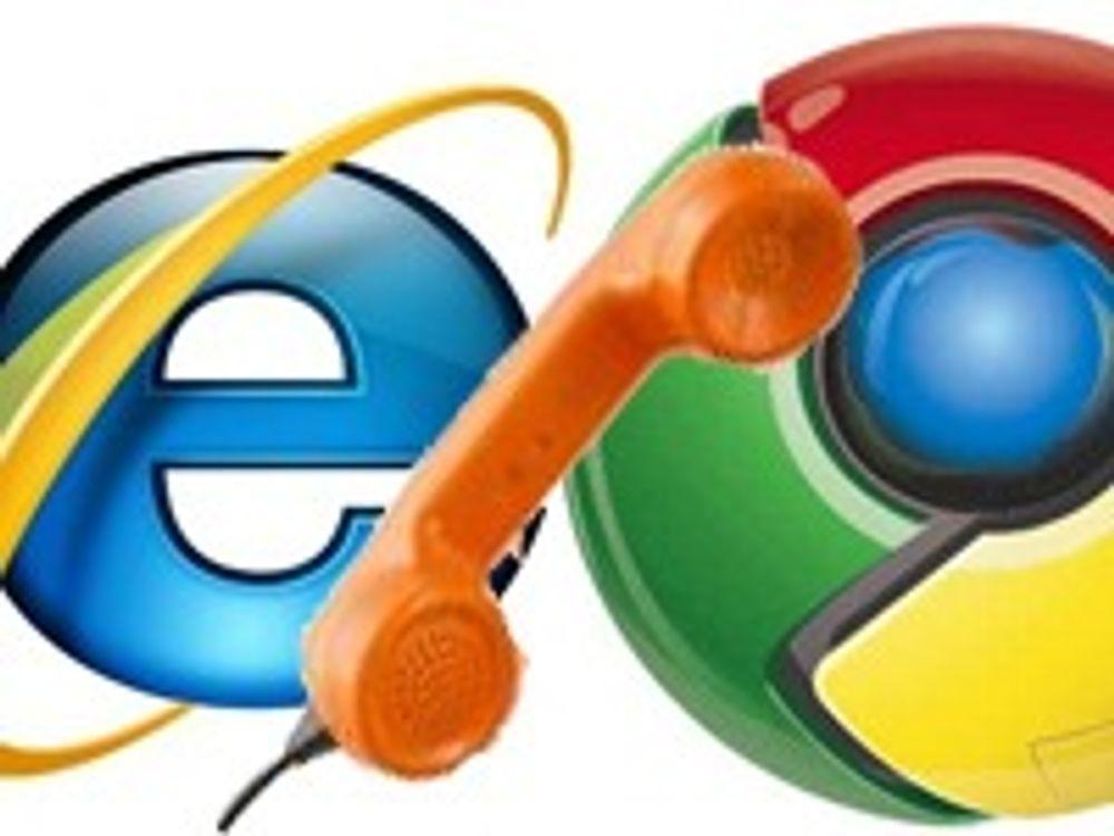 Kritiserer personvernet i Chrome