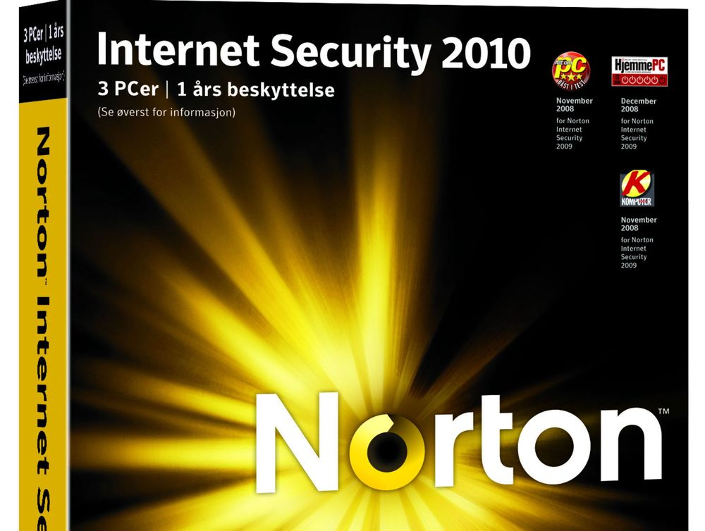 Norton Internet Security 2010 box shots - full message