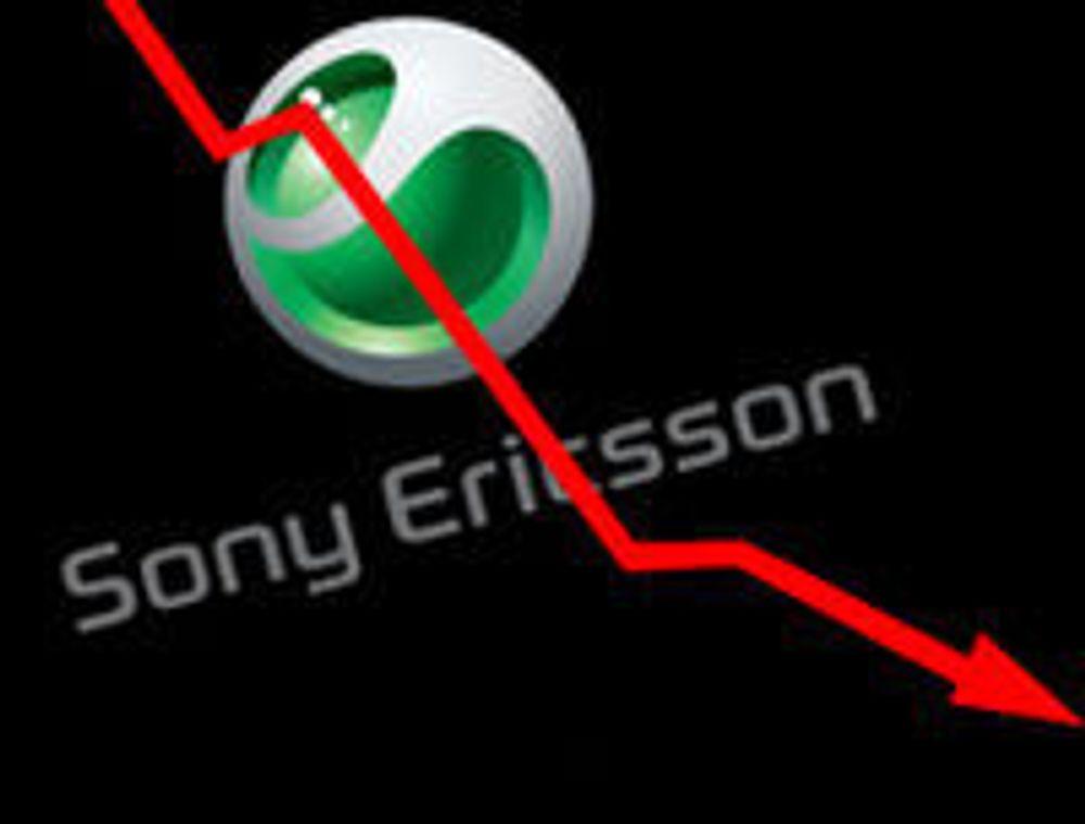 Nytt skrekkvartal for Sony Ericsson