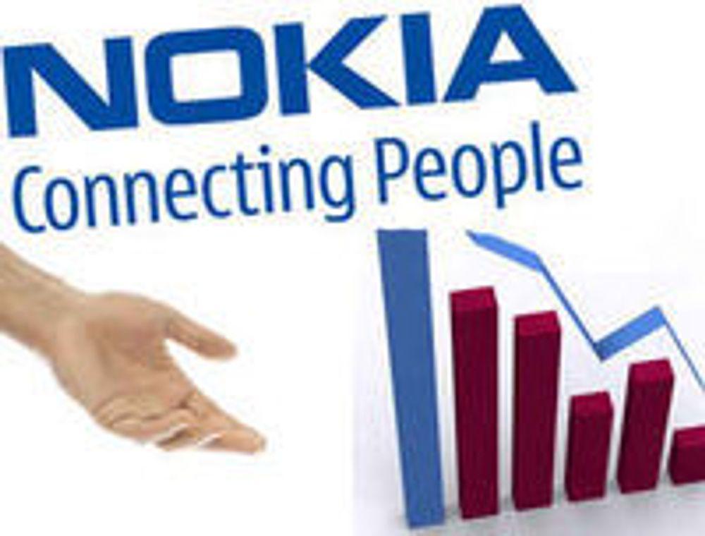 Digert underskudd i Nokia