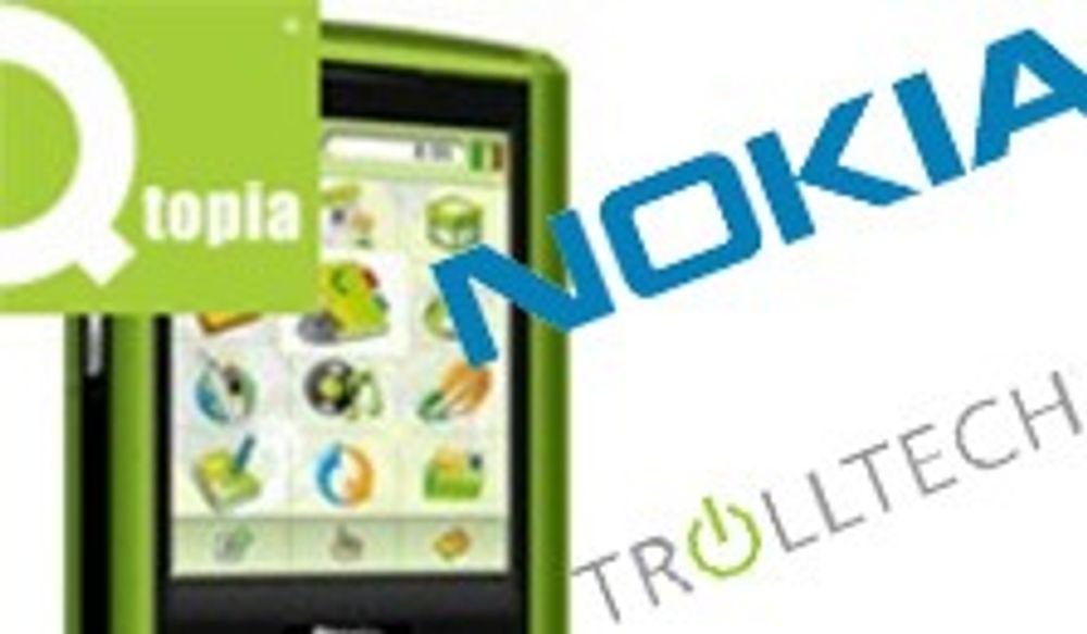 Nokia åpner ny horisont ved å kjøpe Trolltech