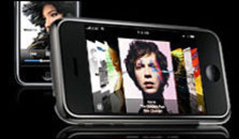 iPod og Mac-maskiner løfter hverandre
