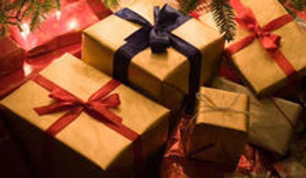 Her er årets harde julegaver