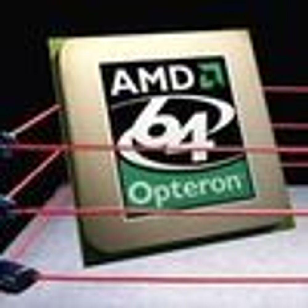 AMD taper mindre enn ventet