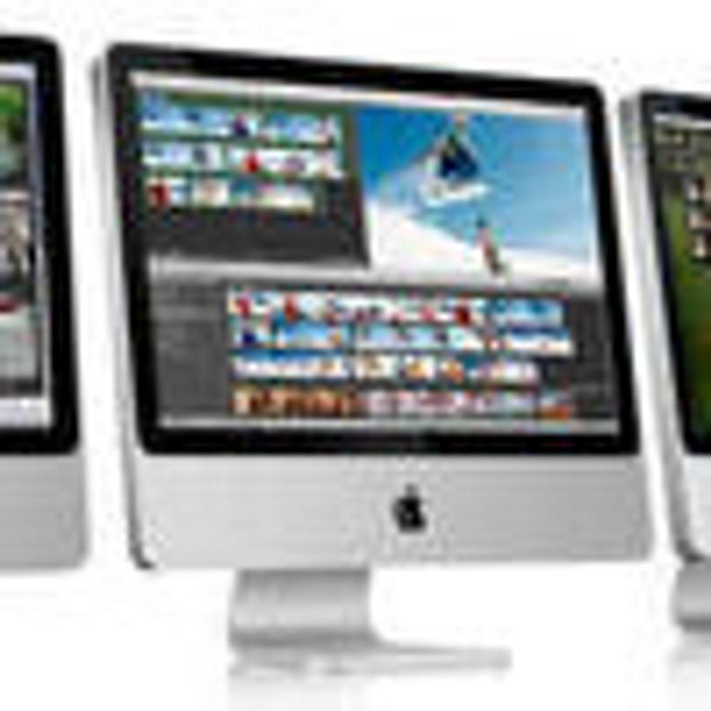 Apple er blitt store, men bare i USA
