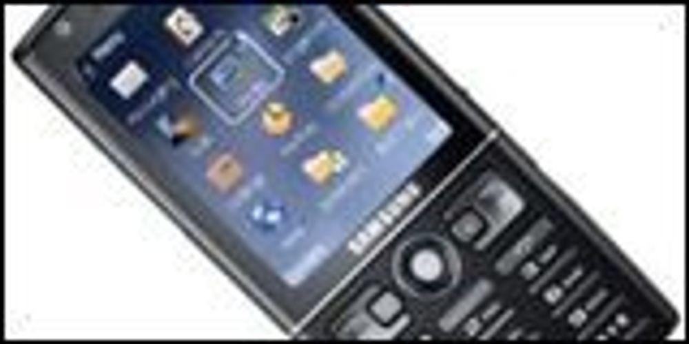 Samsungs med ny GPS-mobil til Europa
