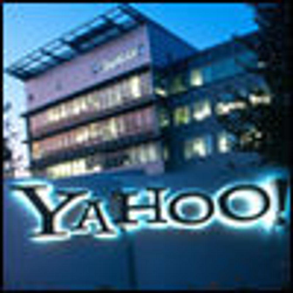 Mindre overskudd i Yahoo