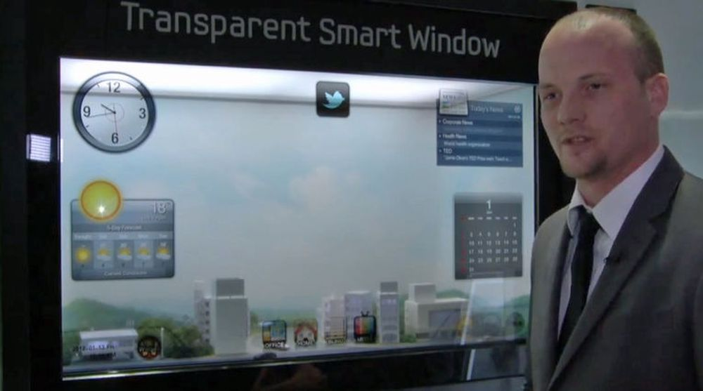 Samsungs Transparent Smart Windows.