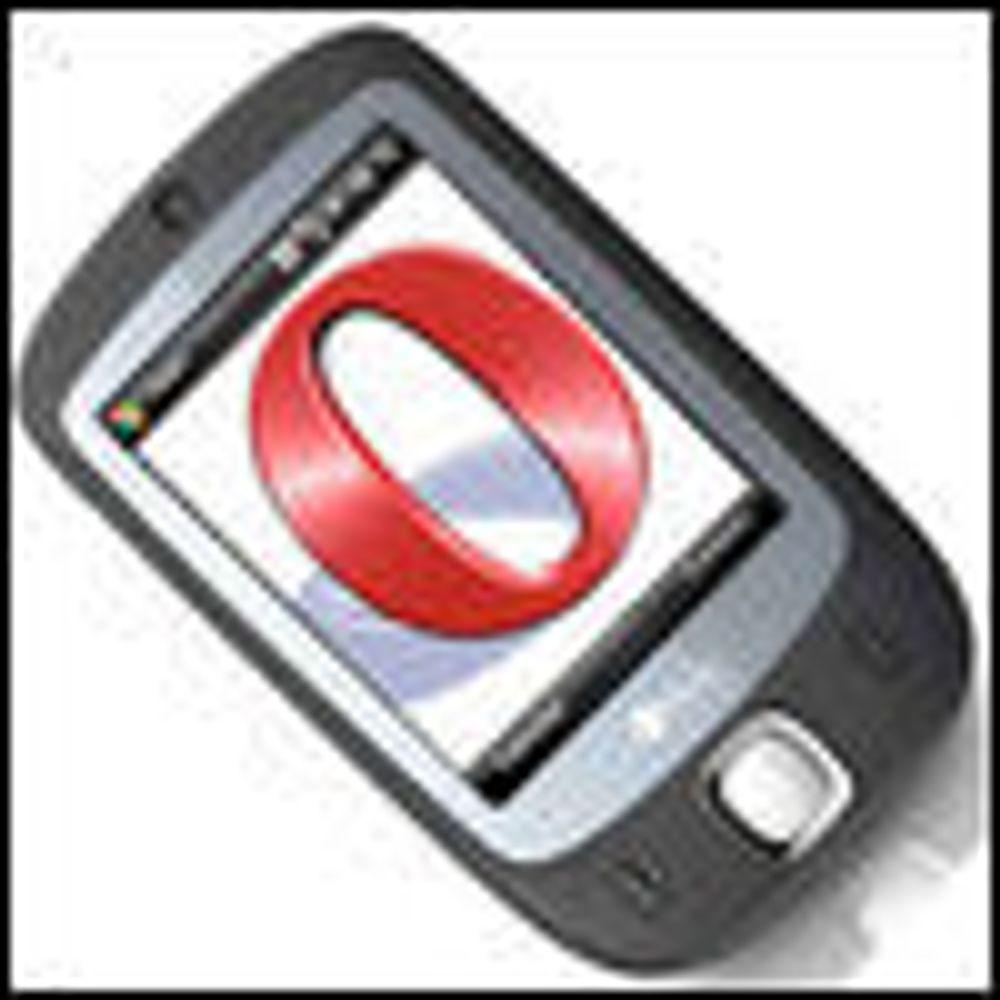 Opera inngår mobilt partnerskap med Google