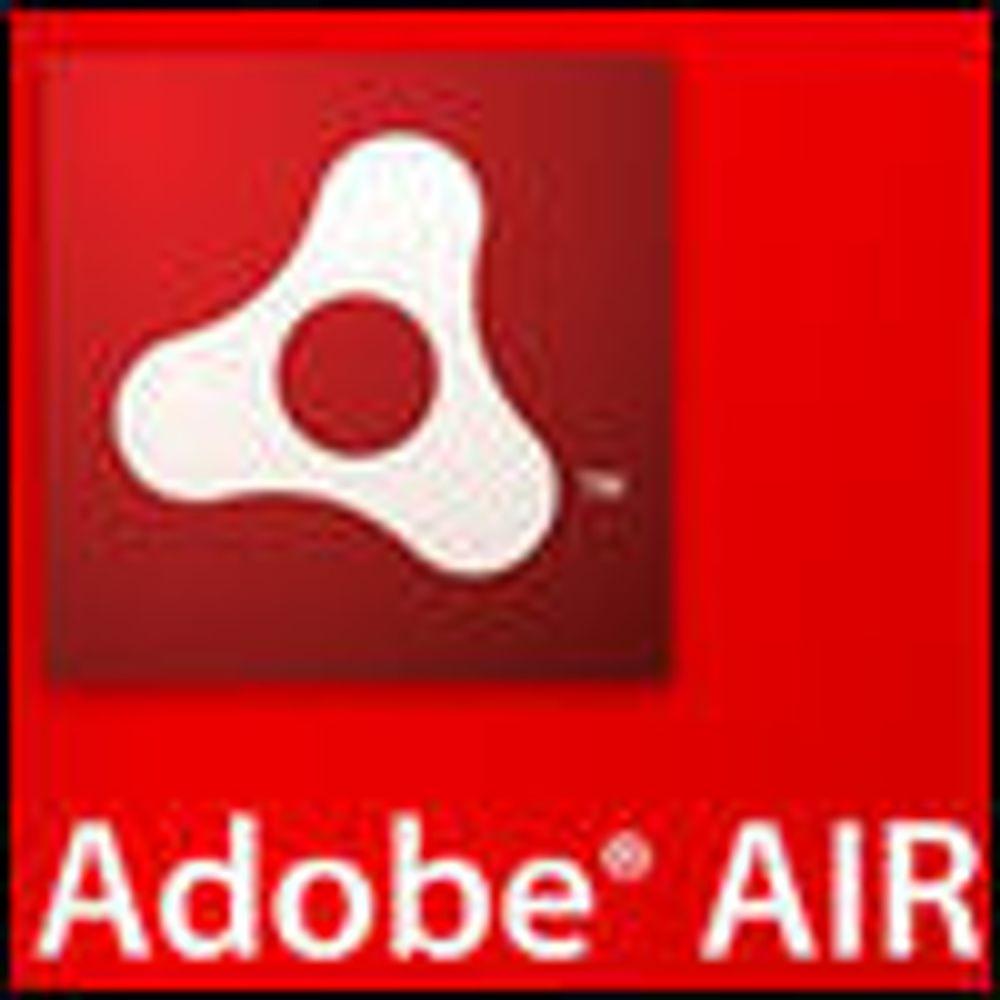 Adobes Air gir mer lokale webapplikasjoner