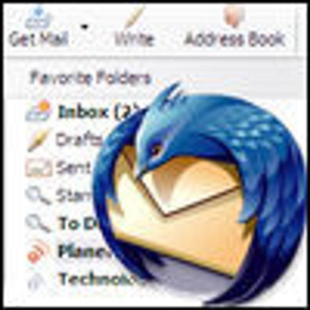 Nå skal det bli ny fart i Mozilla Thunderbird