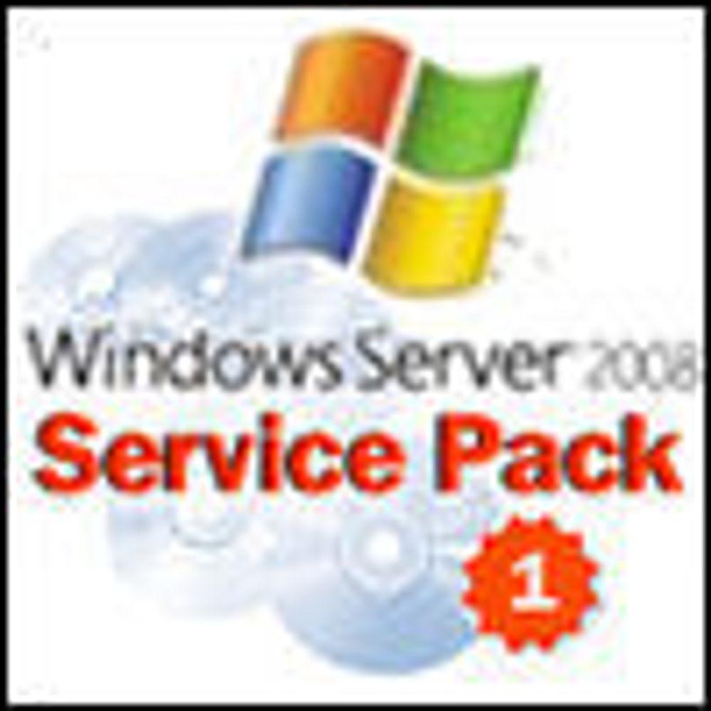 Ny Windows Server med servicepakke