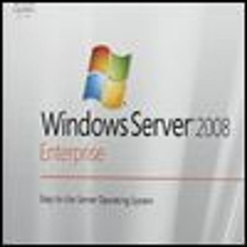Windows Server 2008 ute av betaperioden