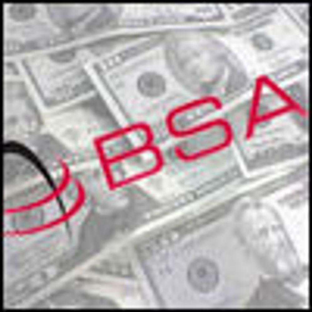 BSA krever penger av svenske myndigheter
