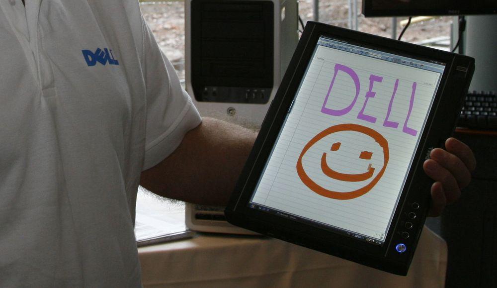 Dell satser for fullt på tablet PC