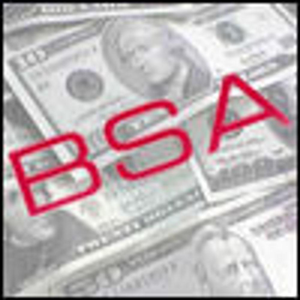 Rekorderstatning etter BSA-anmeldelse