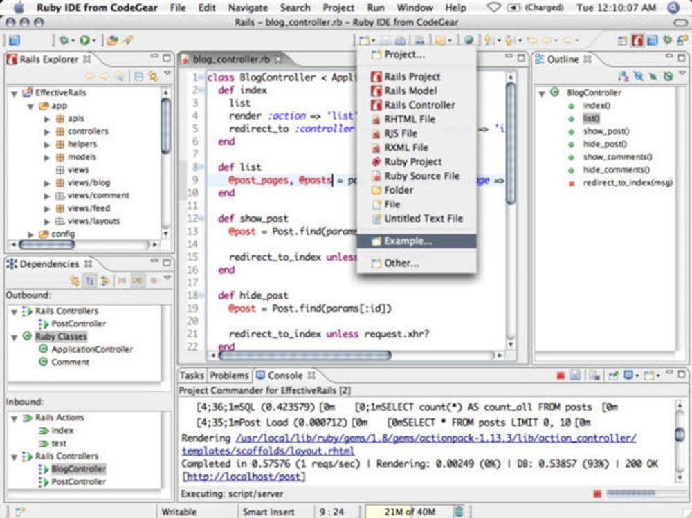 Tilbyr Ruby-utviklere et nytt verktøy