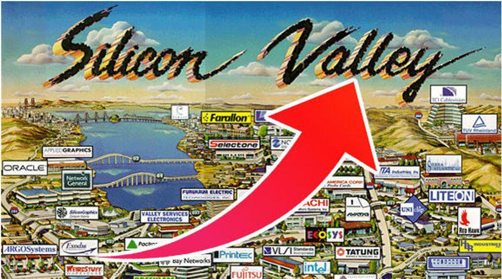 BOOM: San Francisco har tradisjonelt ikke vært del av Silicon Vally, men stadig flere IT-firma har valgt å slå seg ned i byen.