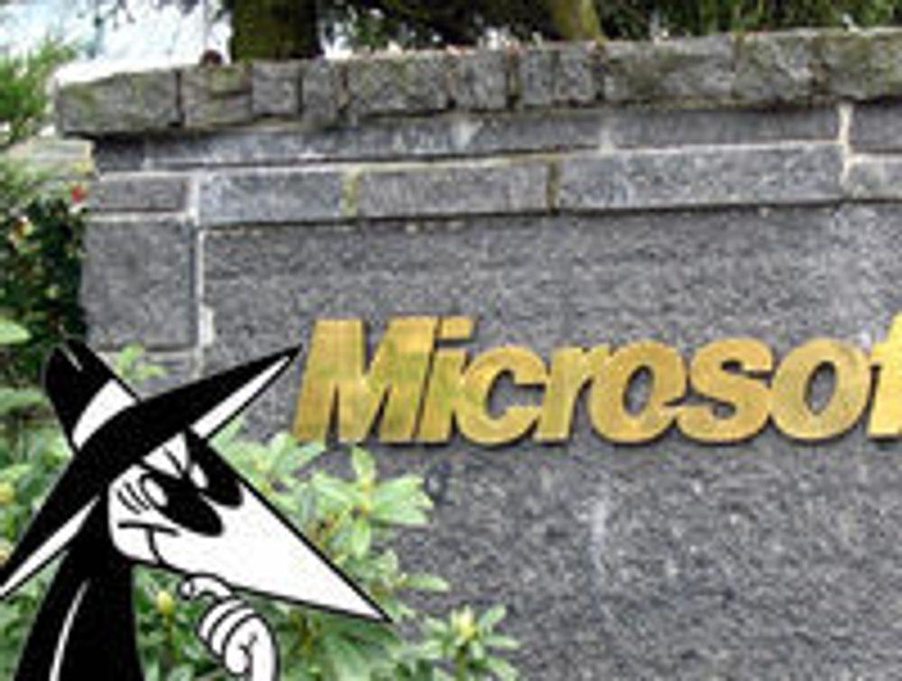 Mistenkt spion arrestert hos Microsoft