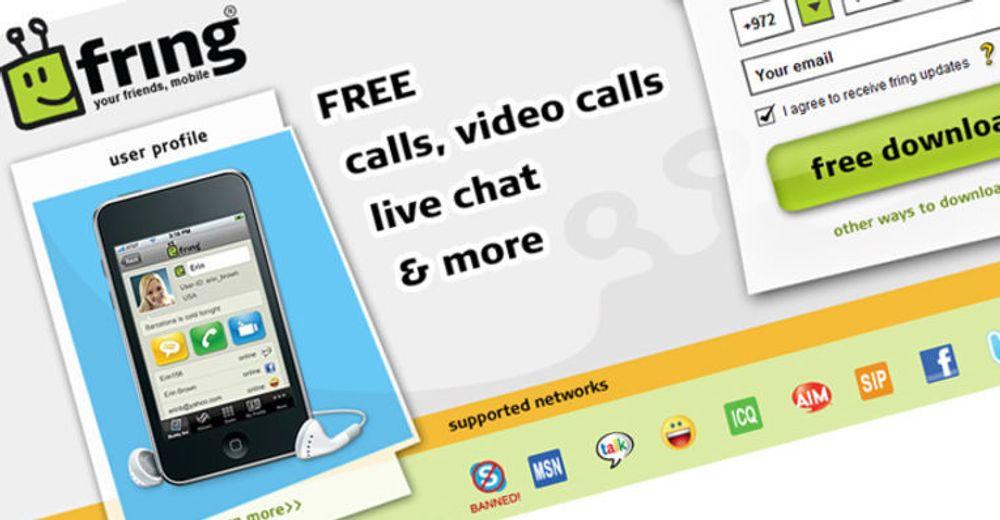 Det er slutt på Skype-støtten i klientene til Fring. Vi er blokkert, hevder selskapet. - Løgn, sier Skype.