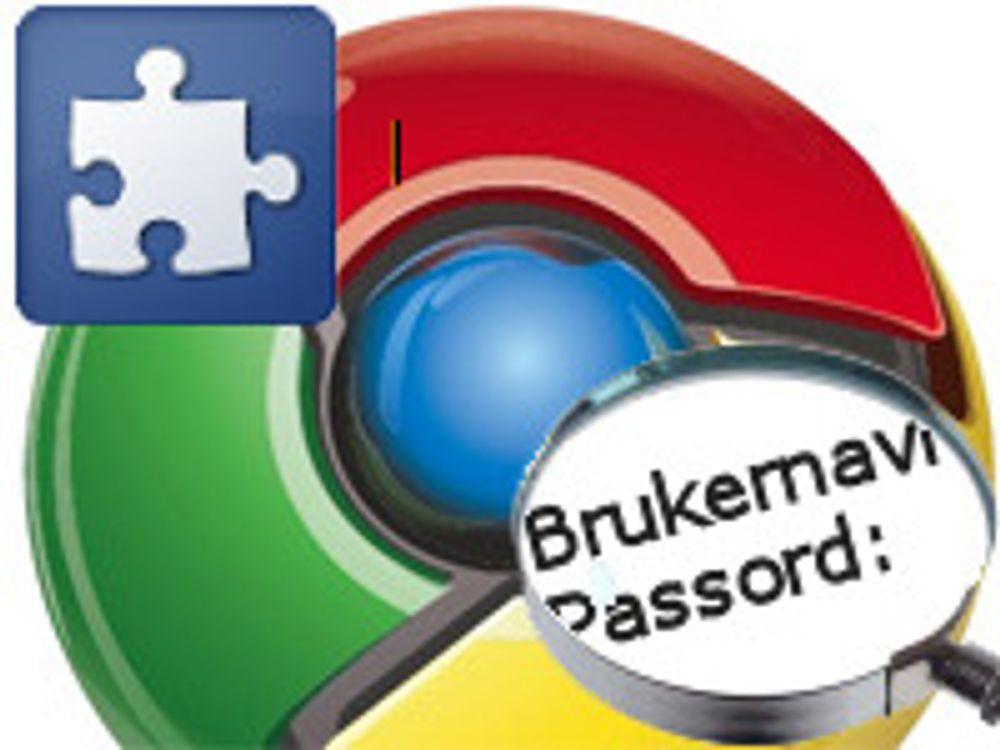 Chrome-utvidelser kan stjele passord
