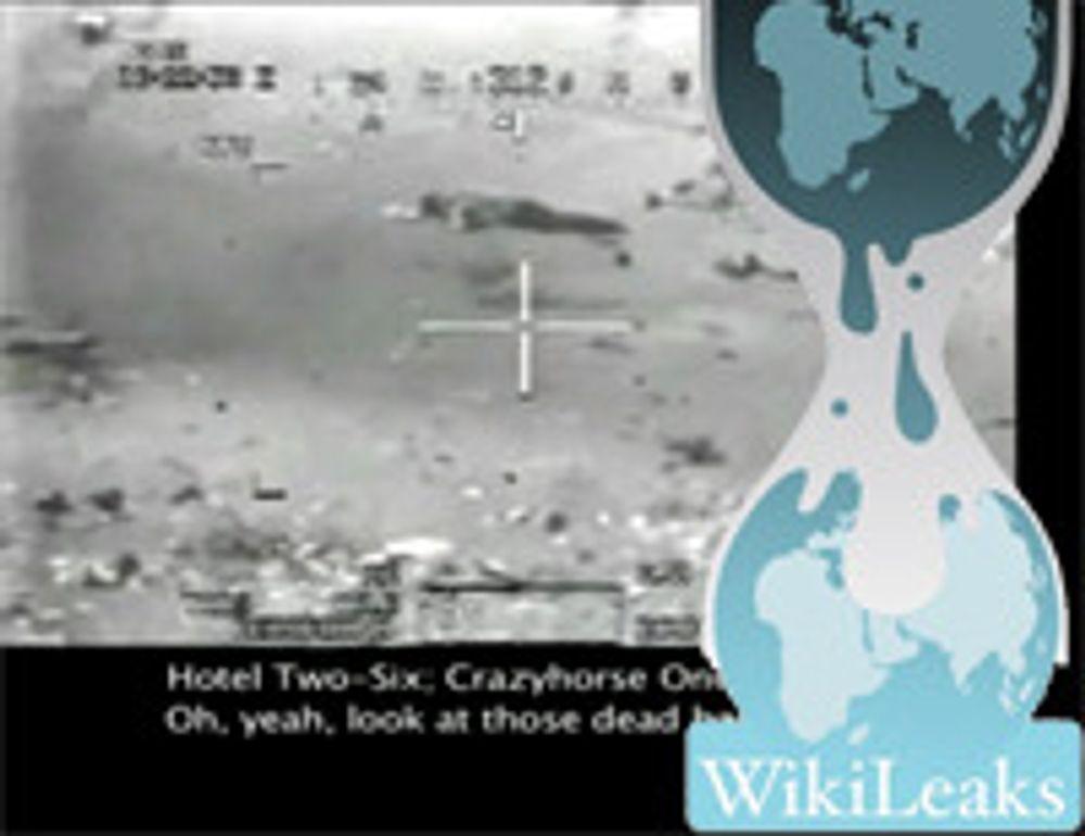 Umulig å laste opp til WikiLeaks